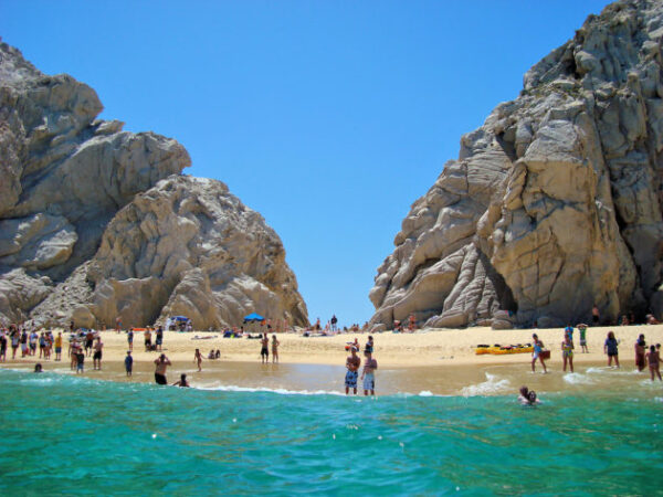 Cabo San Lucas Lovers Beach Playa del Amor Los Cabos Mexico