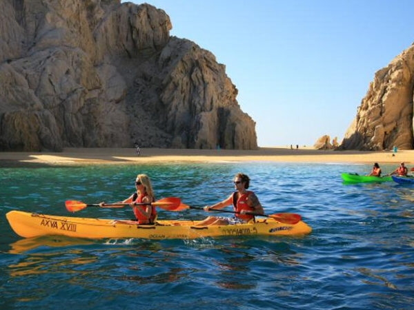 Kayak to Lovers Beach cabo