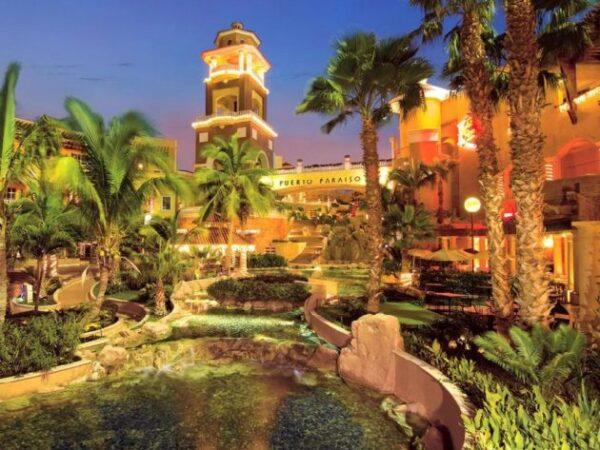 Puerto Paraiso Mall in Cabo San Lucas Baja California Sur Mexico
